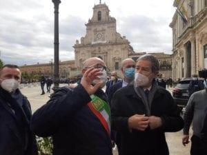 """Musumeci incontra imprenditori in protesta nel Siracusano: """"Sono dalla vostra parte"""""""