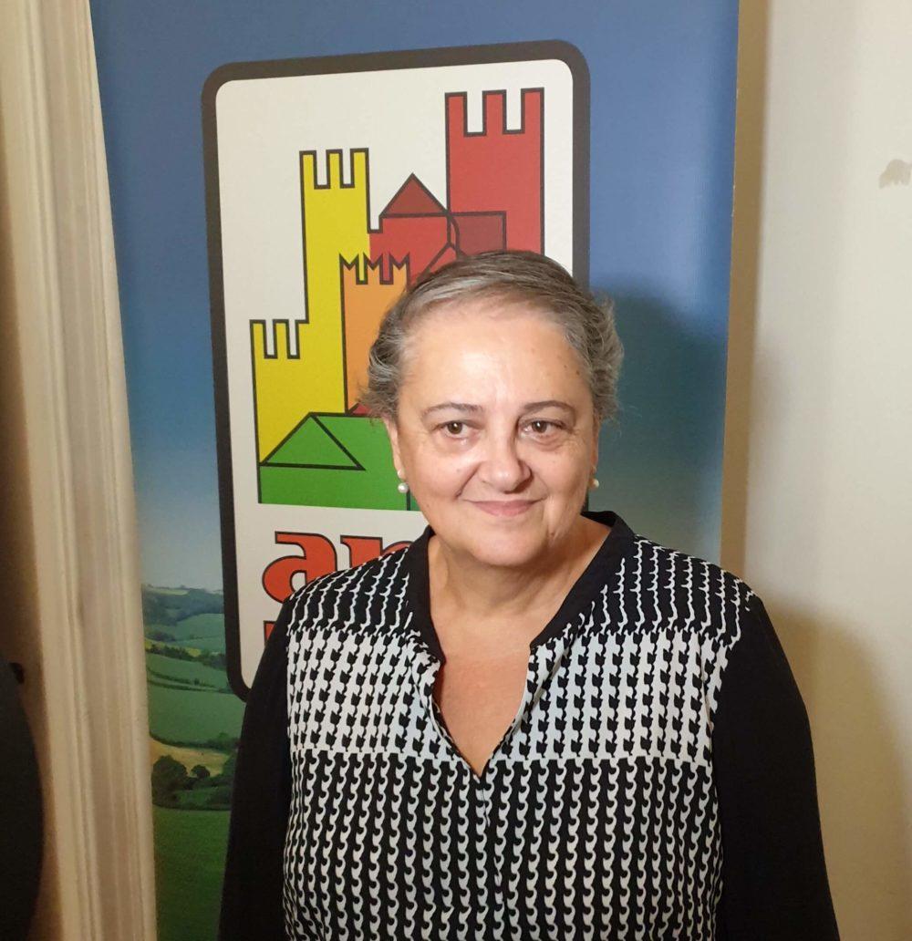 presidente di Anci Marche Valeria Mancinelli
