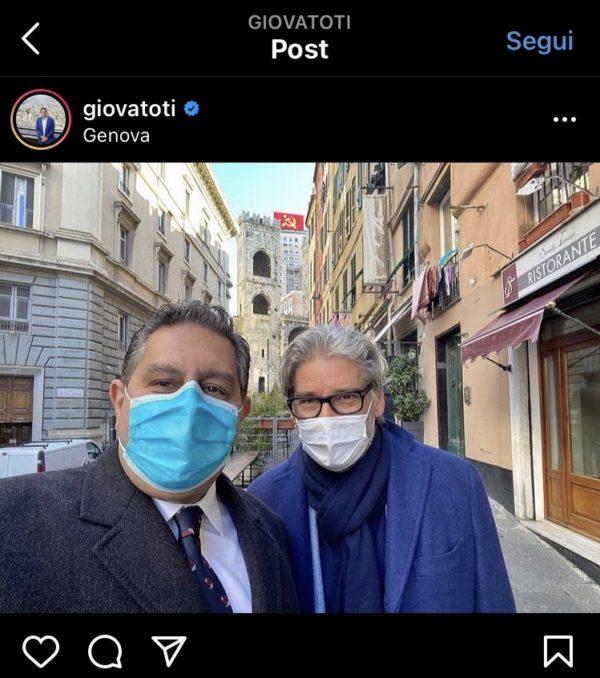Giovanni Toti Paolo Del Debbio