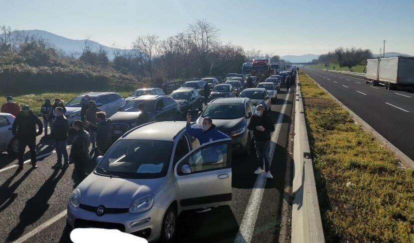 traffico caserta
