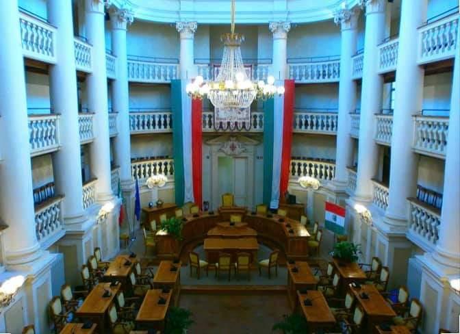 Cerimonia tricolore anniversario reggio emilia