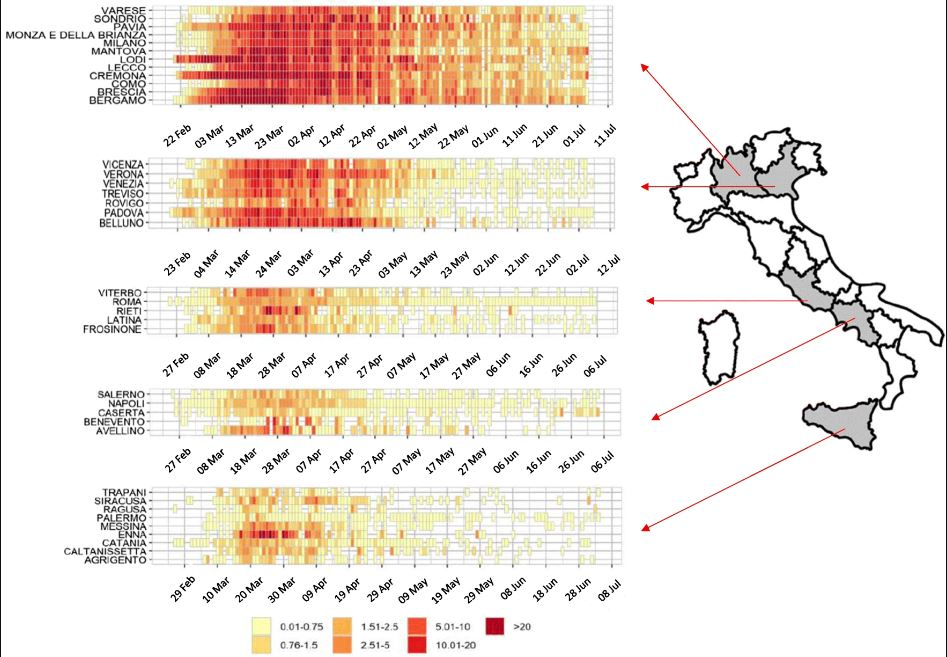 Covid, lo studio: clima e inquinamento favoriscono la trasmissione