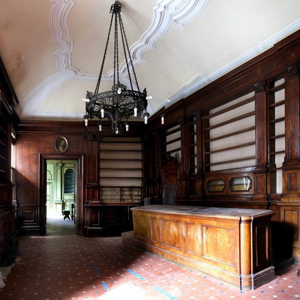 Antica farmacia dell'Ospedale Fatebenefratelli a Jesi (AN) (1)