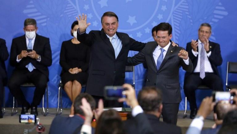 Bolsonaro and João Roma