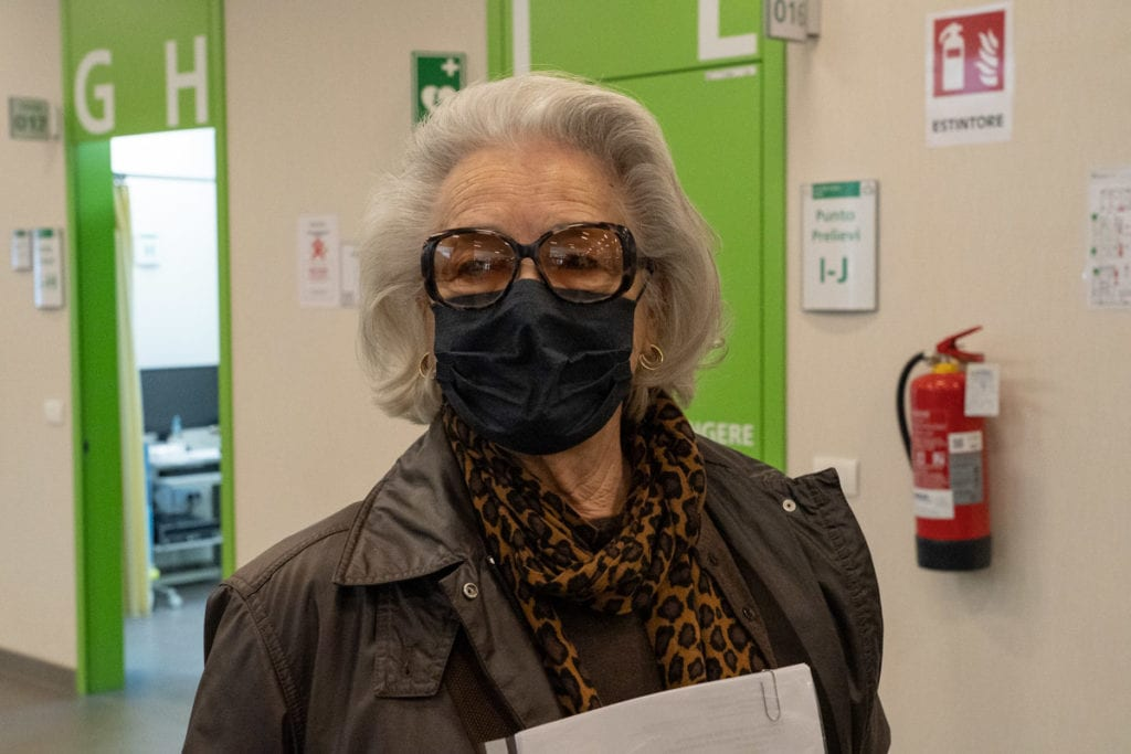 over 85 ottantenni vaccino covid vaccinazione over Franca Gazzotti