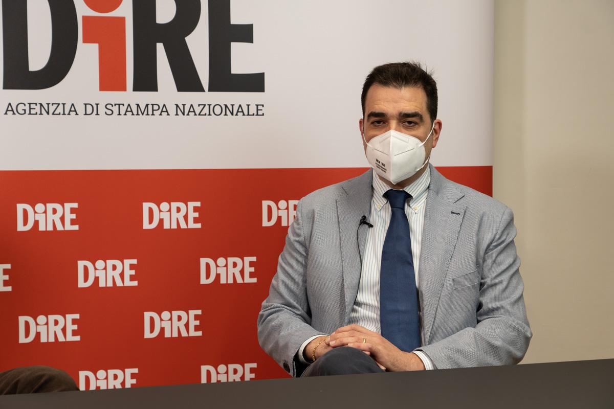Pietro Giurdanella, numero uno dell'Ordine degli infermieri di Bologna e presidente del Coordinamento regionale degli ordini infermieristici dell'Emilia-Romagna