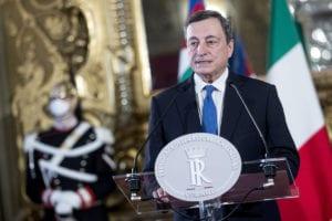 Draghi incontra gli amministratori di Stellantis, Enel, Eni, Snam e Terna