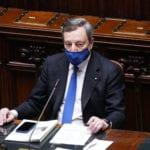 """Draghi sul Recovery: """"La fase di attuazione si fonderà su semplificazione, riforme e trasparenza"""""""