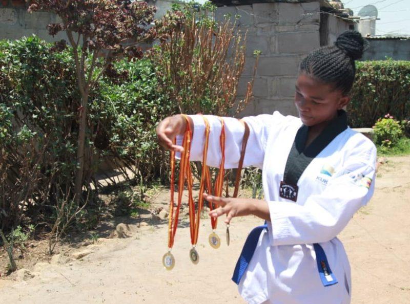 Natsiraishe Maritsa taekwondo 3