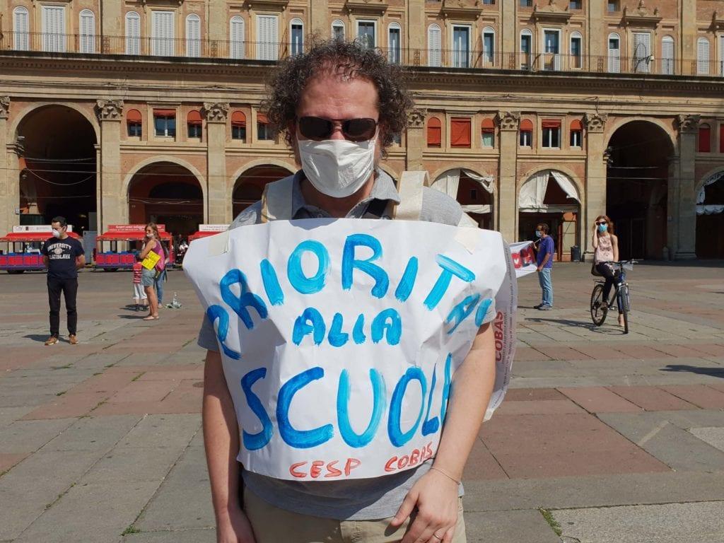 priorità alla scuola bologna manifestazione
