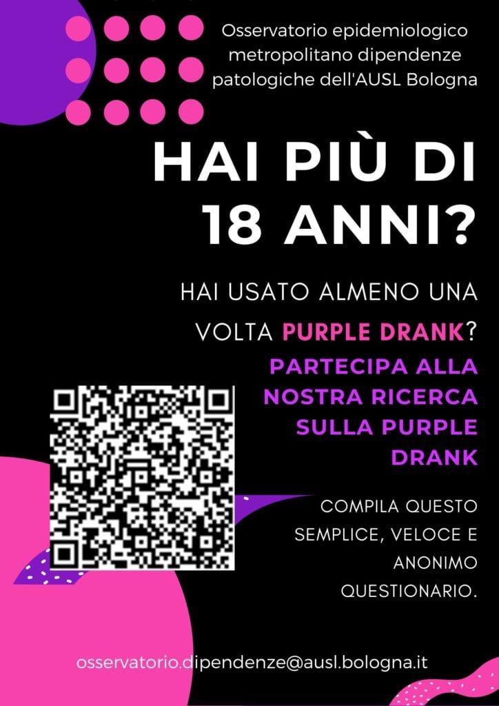 purple drunk bologna