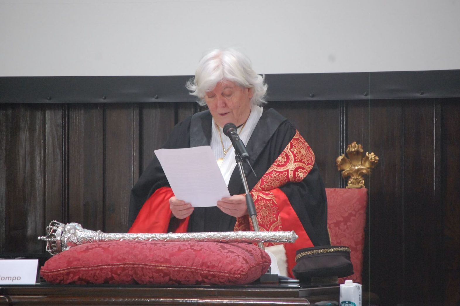 400 anni ateneo cagliari università rettore Maria Del Zompo
