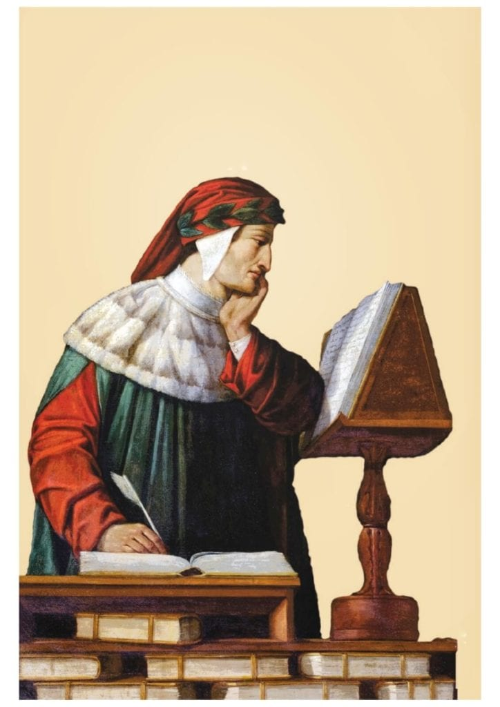 Dante dipinto Runcaldier