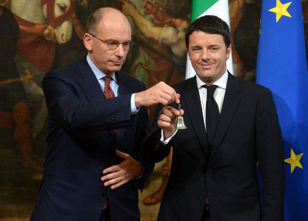 GIURAMENTO GOVERNO MATTEO RENZI