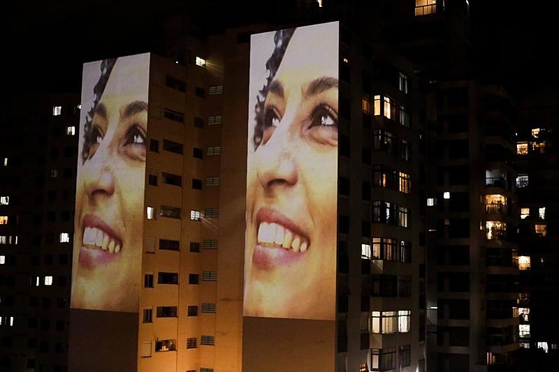 São Paulo prejections marielle franco