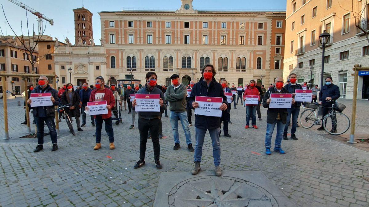 flash mob violenza donne liberare roma