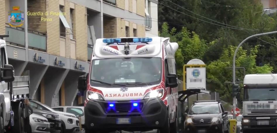 ambulanza asst pavia