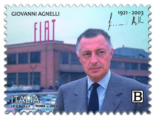 Gianni Agnelli_francobollo