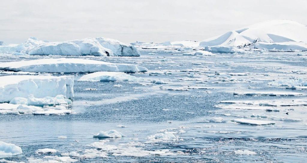 ghiaccio antartide