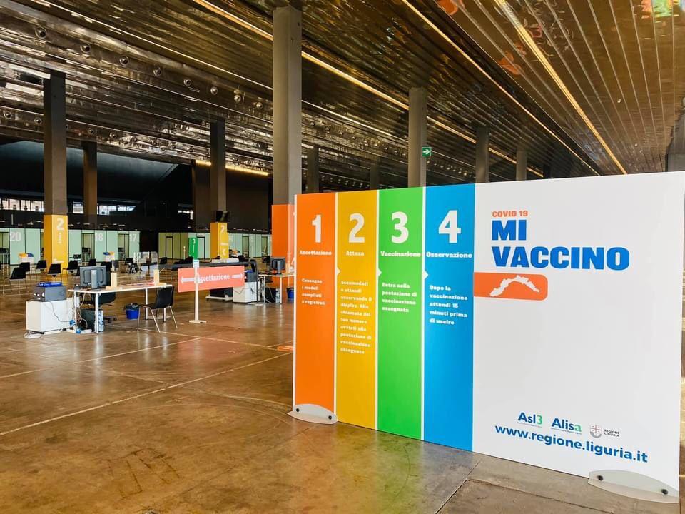 hub vaccinale liguria genova