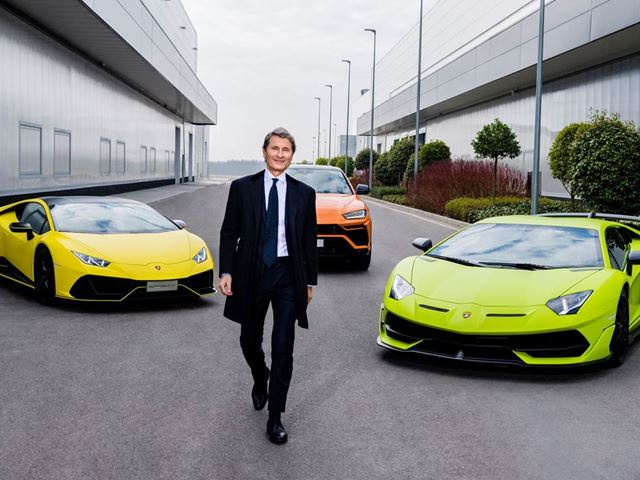 Stephan Winkelmann, presidente e ad di Lamborghini