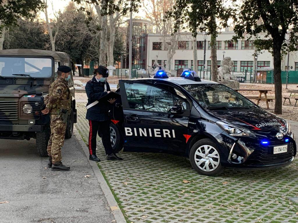 montagnola bologna carabinieri