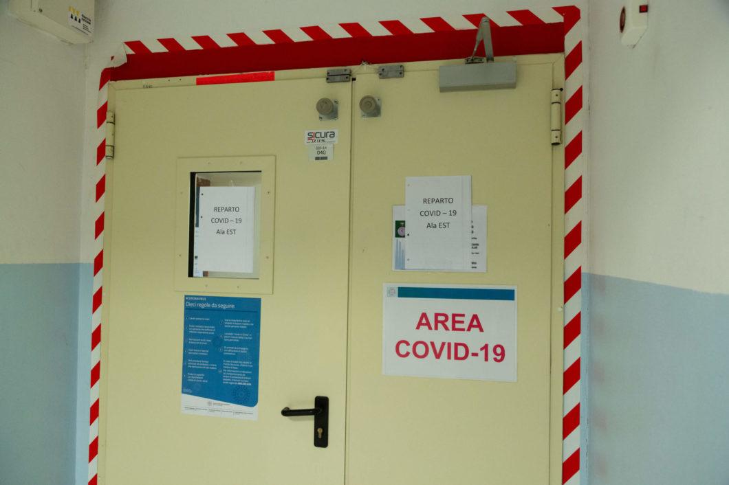 reparto covid ospedale sant'orsola bologna
