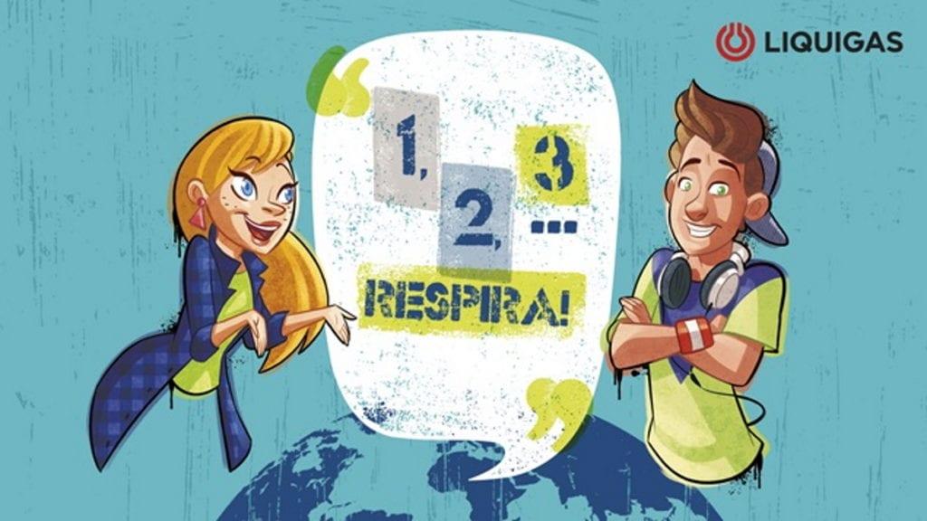 1, 2, 3… RESPIRA! liquigas