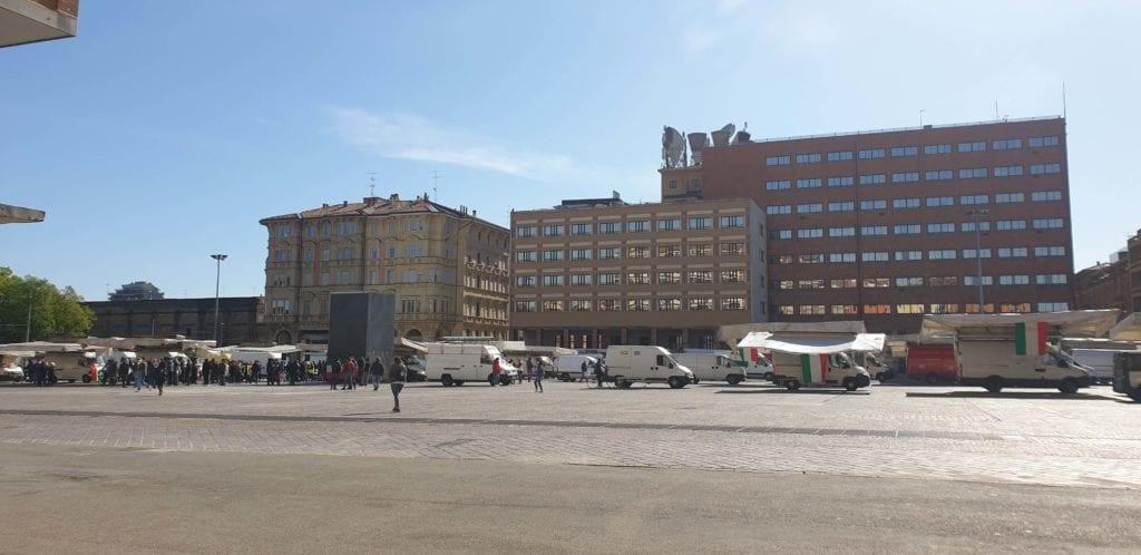 protesta ambulanti piazzola bologna