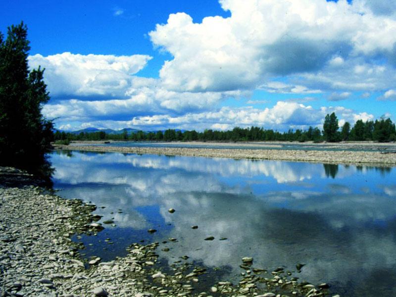Clima natura paesaggi Po emilia-romagna
