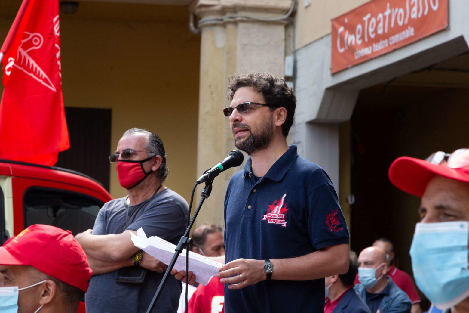 Michele Bulgarelli segretario nazionale cgil