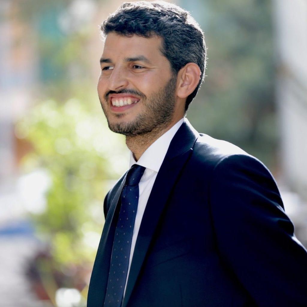 Yassine Lafram, presidente dell'Unione delle comunità islamiche d'Italia (Ucoii) e della comunità bolognese