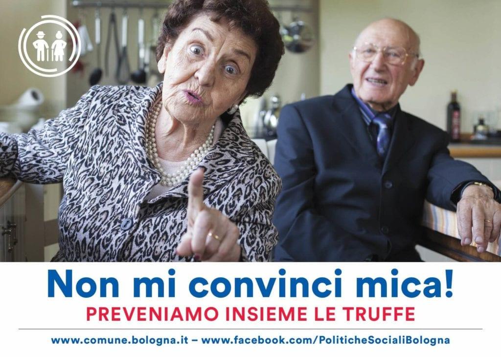 campagna comune bologna truffe anziani