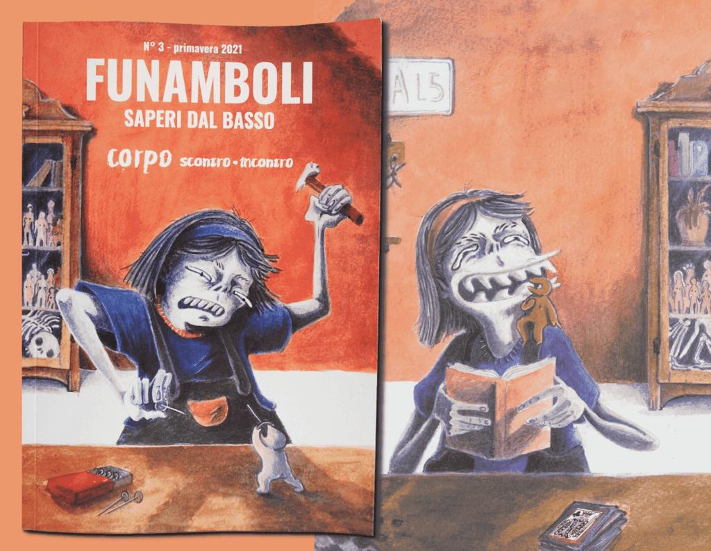 copertina nuovo numero Funamboli rivista universitaria indipendente