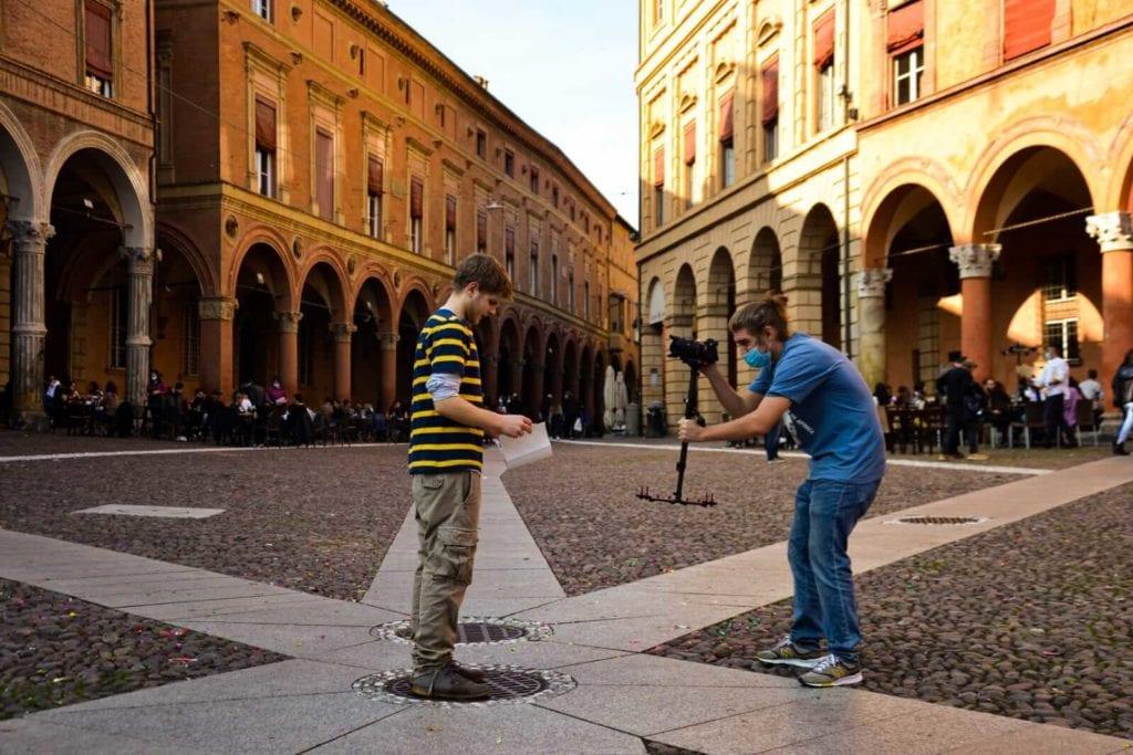 foto di Aldo Benvenuto - riprese video raccolta fondi