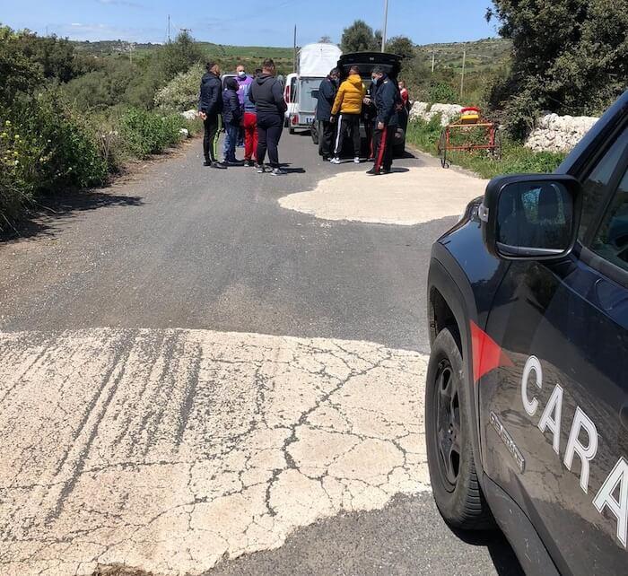 carabinieri corse clandestine siracusa