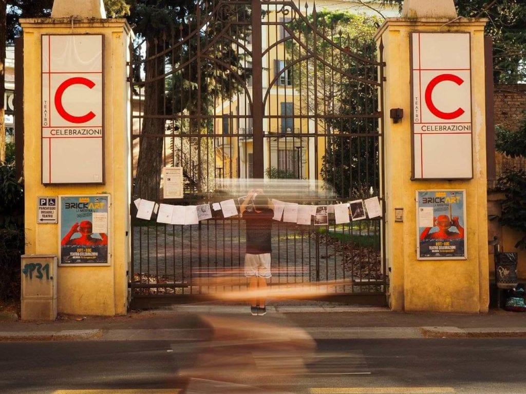 leghinaggio cinema e teatri chiusi - con m.e.p - foto di Aldo Benvenuto