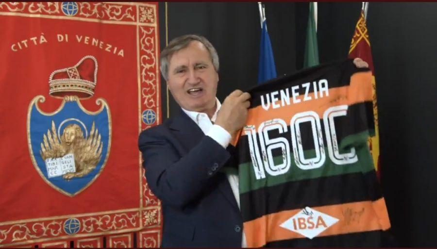 luigi brugnaro maglia venezia fc 1600 anni