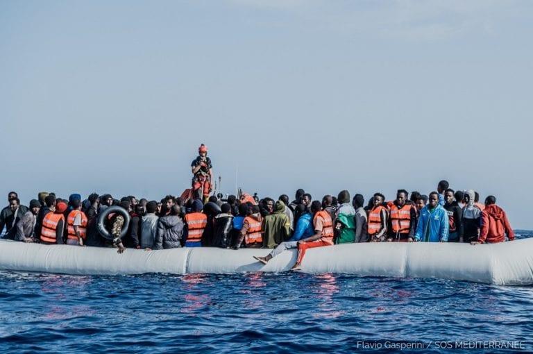 Foto credit @Flavio Gasperini - Sos Mediterranee