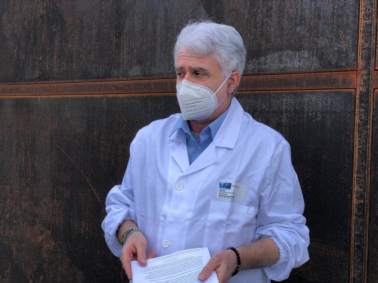 presidente provinciale dell'Ordine dei medici chirurghi e odontoiatri Pietro Dattolo