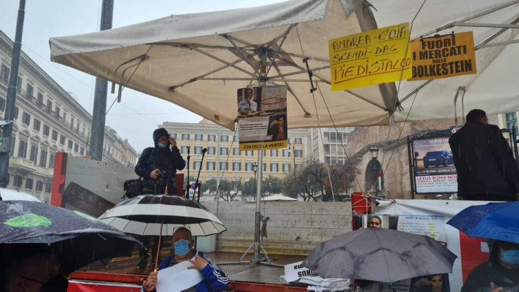 protesta ambulanti roma