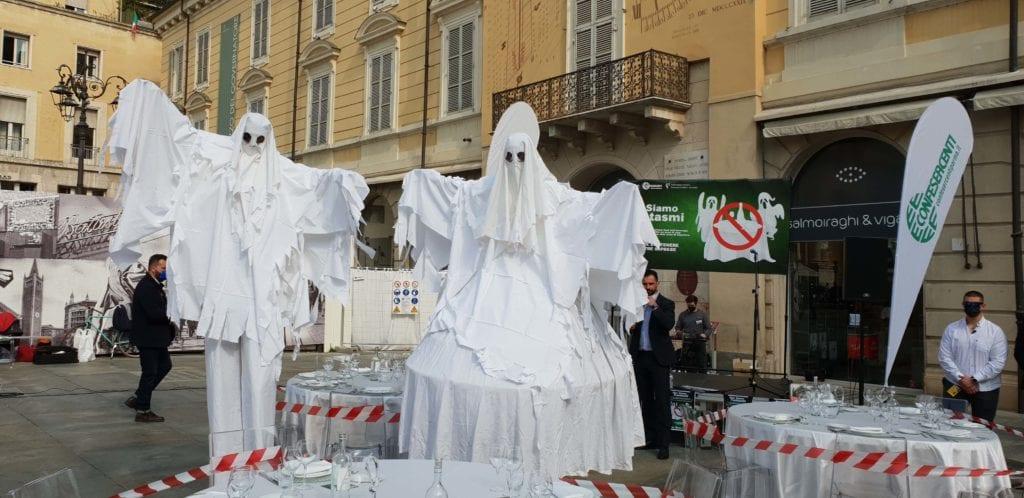 protesta commercianti parma