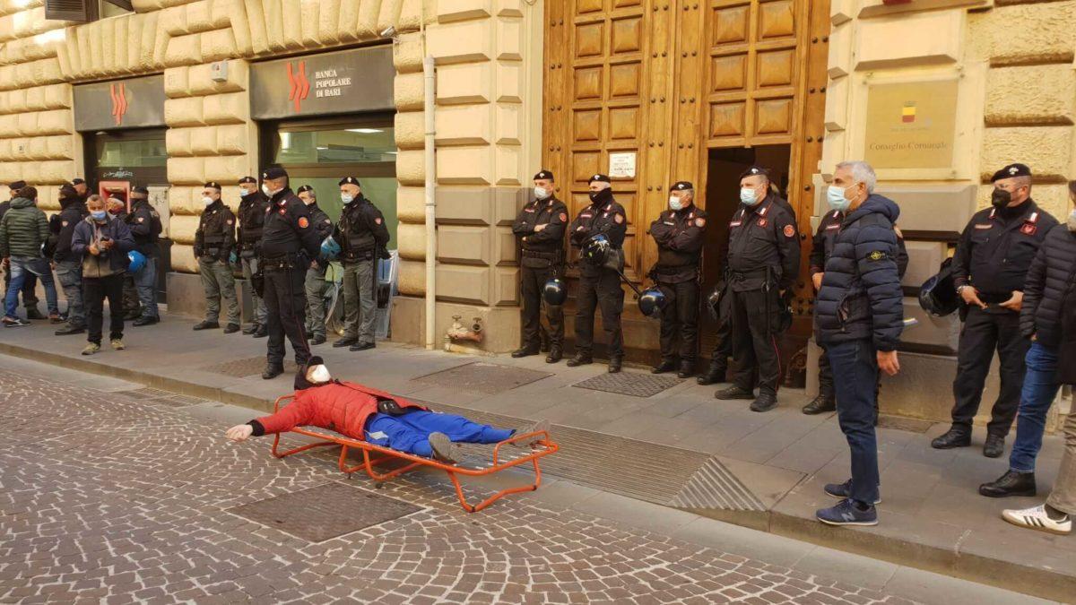protesta discoccupati napoli