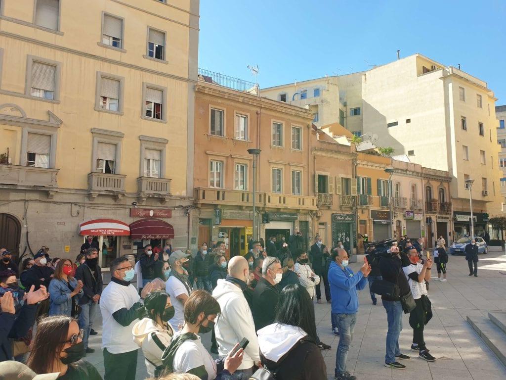 protesta ristoratori ambulanti cagliari