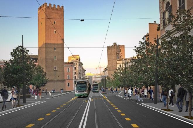 nuovi tram roma