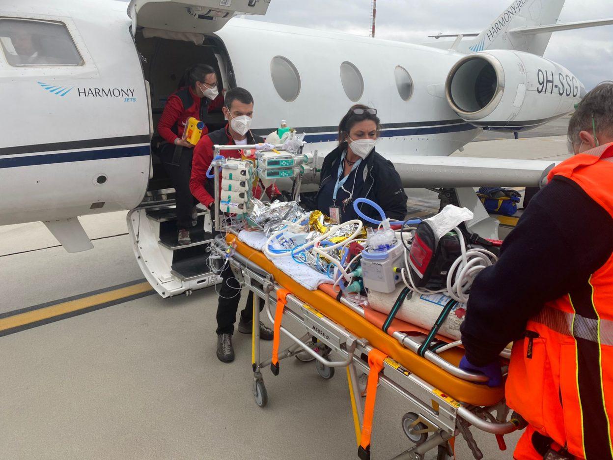 trasporto elicottero paziente elisoccorso