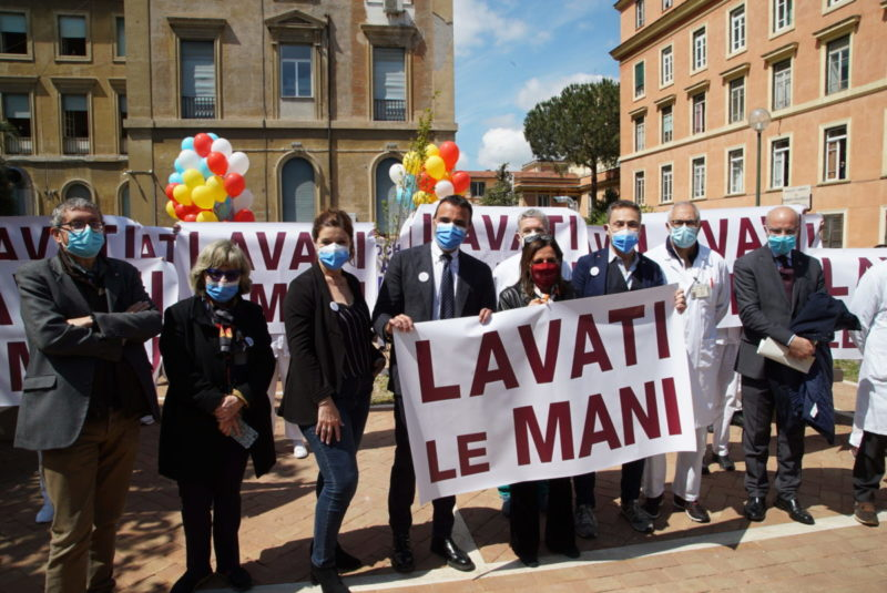 flash mob_giornata_mani