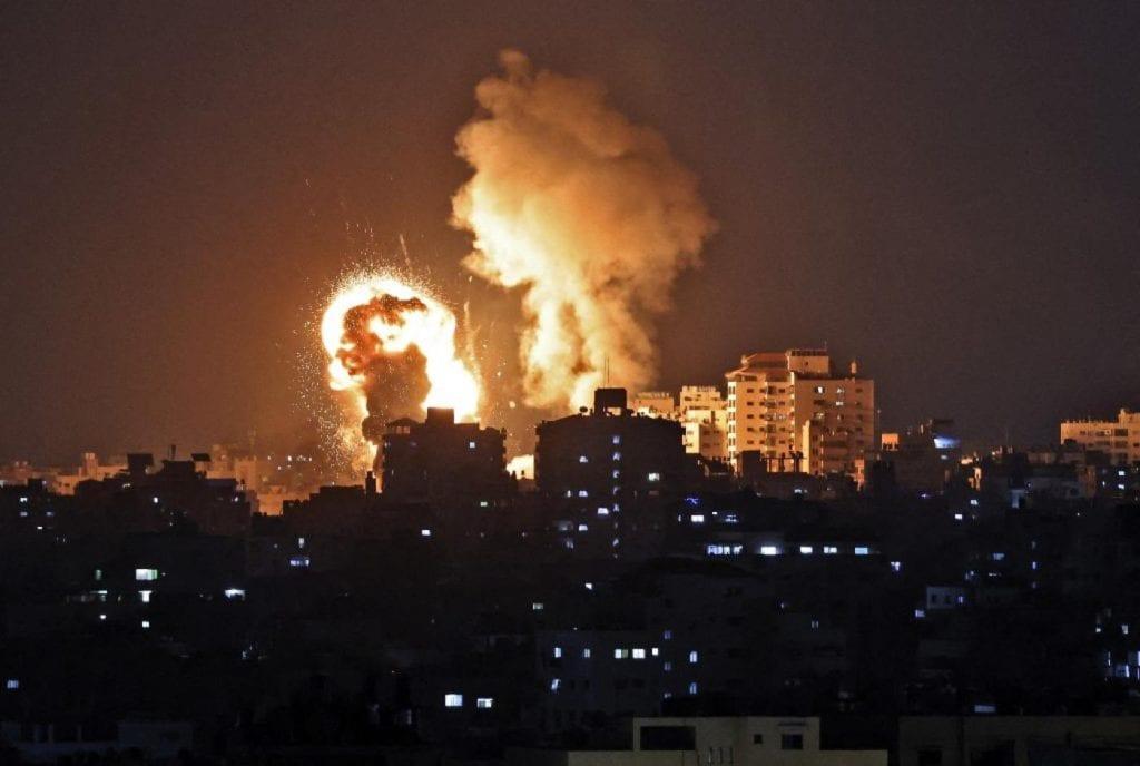 israele_bombardamenti