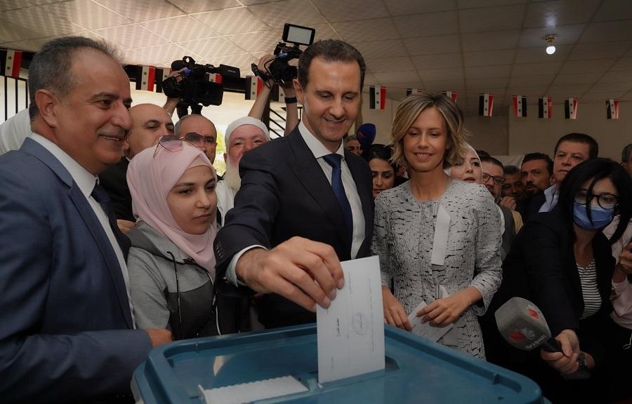 siria assad voto