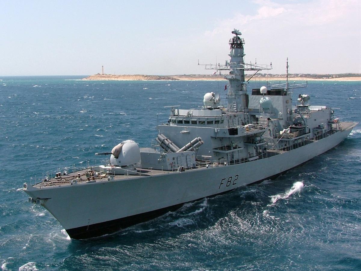 navi da guerra inglesi